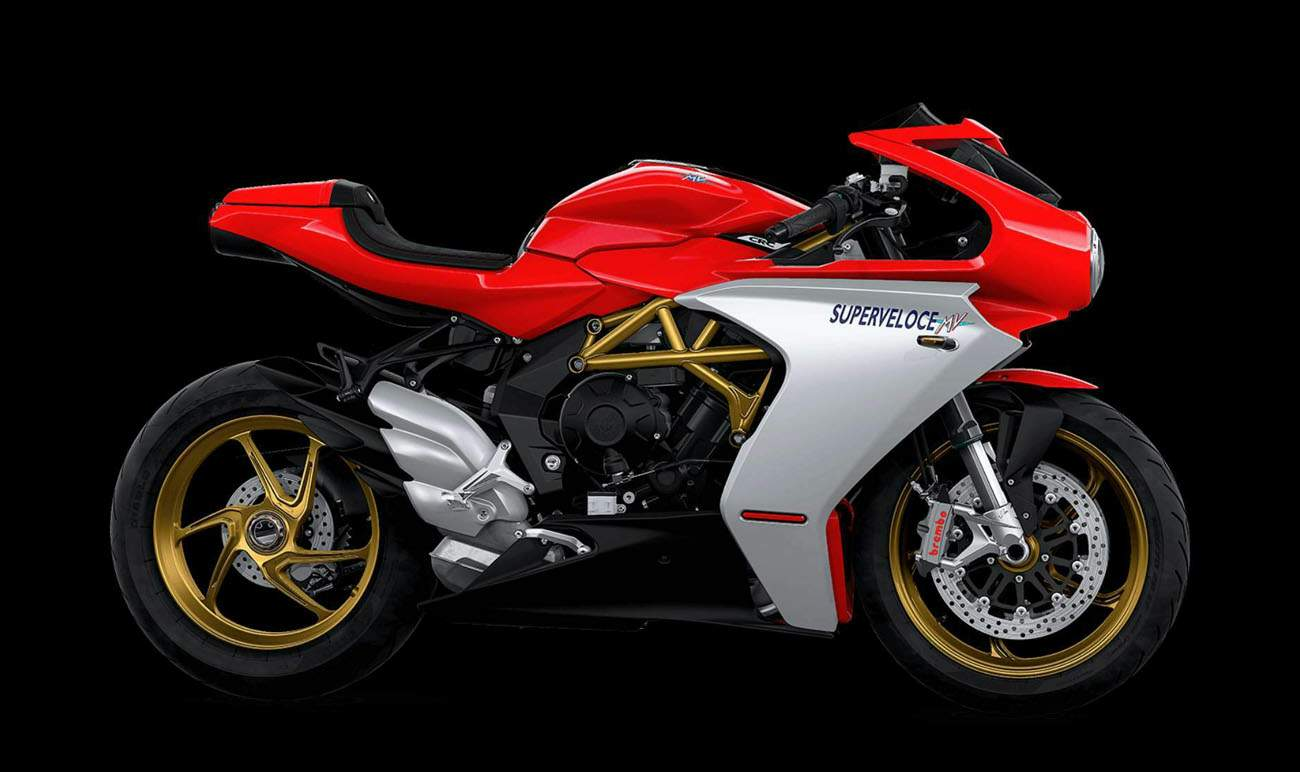 MV Agusta Superveloce 800 S technical specifications